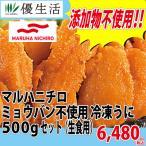 ウニ うに 雲丹 マルハニチロ ミョウバン不使用 冷凍 うに 500g セット ( 生食用 )