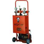 カミマル 小型ガス溶接セット KSパンダ(酸素500L、アセチレン0.5kg) ガス充填タイプ