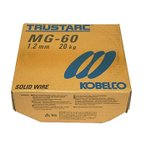 神戸製鋼(KOBELCO) 高張力鋼用ソリッド溶接ワイヤ MG-60 1.2mm 20Kg