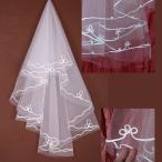 Yahoo!youtatsuウエディング ベール 単層 150cm ウェディングベール ショートベール ヴェール ブライダル 挙式 ウエディングドレス