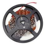 ショッピングLED LEDテープライト300連 SMD3528 DC12V 5M 非防水 白ベース 切断可能 電球色 5m ledテープライト ledテープ ledテープ