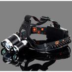 LED ヘッドライト ledヘッドライト 防災 登山 釣りキャンプ 5000ルーメン 4段階点灯 角度調整
