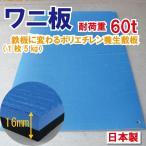 ワニ印日本製・養生敷板 ワニ板/WANIBAN 厚み16mm×1100mm×1800mm4560260216512