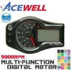【正規品】ACEWELL完全防水マルチメーターA[9,000rpm指針モデル]アドレスV100アドレス110アドレスV125G[CF46A/CF4EA]アドレスV125S[CF4MA]バーハン化に