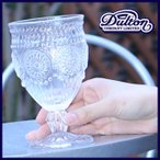 DULTON ダルトン アクアグラス グラス コップ ゴブレット ガラスコップ ワイングラス キャンディーポット食器 ボヘミアグラス ボヘミ