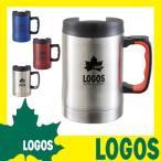 ショッピングマグ マグカップ ロゴス LOGOS プリメイヤー真空マグ420 コーヒーカップ カップ マグ ステンレス 蓋付き 保温 保冷 真空 プルタブ 420ml 冷めにくい