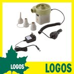 電気ポンプ ロゴス LOGOS 充電パワーブロー 充電式空気入れ エアポンプ エアーポンプ 電動ポンプ アウトドアグッズ アウトドア用品 充電式 キャンプ用品