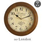 日本製の手作り時計 アンティーク 高精度電波 掛け時計 おしゃれ 電波時計 壁掛け時計 電波掛け時計