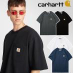 【限定タイムセール】 カーハート Carhartt  tシャツ ロンt メンズ レディース おしゃれ 半袖 Tシャツ カップル服 LOGO 刺繍 無地 大きいサイズ