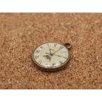 アンティーク時計チャーム(約16.5*19.9mm) エッフェル塔 チャーム アクセサリー パーツ 手芸 ストラップ ハンドメイド 時計