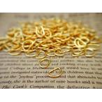 Dカン約200個 ゴールド 10mm 径約1.4mm D環 リング アクセサリーパーツ レザークラフトパーツ ストラップパーツ 金属パーツ 手芸材料