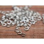 丸カン(約3mm)約100個セット シルバー 線径0.5mm 丸環 リング 連結金具 カン類 アクセサリーパーツ ビーズ ネイル 手芸材料 基本 素材