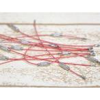 ワイヤーキーリング約10個set パステルピンク ネジ式 キーチェーン キーホルダーパーツ 金具 クラフトパーツ 手芸材料 部品 副資材