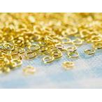 【丸カン(約3mm)約300個セットゴールド】線径0.5mm/丸環/リング/連結金具/カン類/アクセサリーパーツ/ビーズ/ネイル/手芸材料/基本/素材