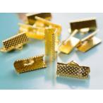 レース留め(約16mm)10個 ヒモ留め ゴールド 金 フック 金具 ハンドメイド リボンパーツ アクセサリーパーツ金具 手作りリボン 止め具