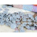 プラスナップ スナップボタン 艶なし シルバー 10mm 約30組 ハンドプレス 問屋 洋裁材料 手作り小物 雑貨 約1cm アクセサリーパーツ パーツ