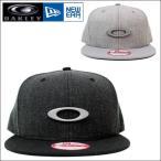 オークリー キャップ OAKLEY × NEW ERA (オークリー × ニューエラ) ユニセックス キャップ 限定コラボキャップ 帽子 ロゴ キャップ 全2色 911508