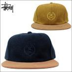 ステューシー キャップ STUSSY (ステューシー) ユニセックス 刺繍キャップ SSリンク リース ロゴ 刺繍 キャップ 帽子 キャップ 全3色 131619