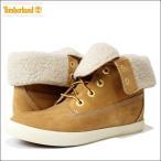 ショッピングTimberland Timberland (ティンバーランド) 【レディース】 レザーブーツ ロールトップ ブーツ 靴 シューズ 革 ヌバック レザー (WHEAT ウィート) 8643A
