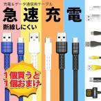「もひとつ無料キャンペーン」microUSB充電ケーブル 純正以上品質