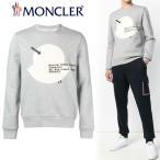 13 MONCLER モンクレール 18AW ロゴワッペン グレー スエット/トレーナー 8036750 80451