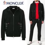 13 MONCLER モンクレール  ブラック ダブルジップ コンビ ダウン パーカー フーディー  8400600 80985