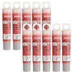 ゼブラ 蛍光ペン オプテックス1・2カートリッジ 赤 3本×10個 B-RWK8-R