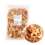 ミックスナッツ ロースト / 1kg TOMIZ/cuoca(富澤商店) 素焼き 無塩 無添加 オイルなし 保存に便利なチャック袋入(アーモンド約33