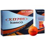 キャスコ(Kasco) ゴルフボール XD701 日本製2ピースボール メンズ XD701 JP オレンジ 1ダース(12個入り) カバー素材:アイオ