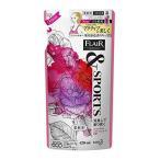 フレアフレグランス &SPORTS(スポーツ) 柔軟剤 消臭して香り咲く スプラッシュローズの香り 詰め替え 420ml