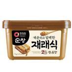 韓国味噌 スンチャン テンジャン 1kg 清浄園 | 韓国 みそ テンジャンチゲの素 コチュジャン カンジャン と並ぶ 韓国の伝統的な調味料