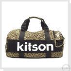ショッピングキットソン Kitson キットソン ハンドバッグ ボストンバック 2way ドラム型  レオパ柄 ブラウン khb0622