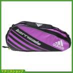 アディダス(adidas) バリケード4ツアー(Brricade) 国内未発売 テニスバッグ6本用 フラッシュピンク/ブラック ラケットバッグ