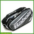 バボラ(Babolat)2017年モデル ピュア PURE グレー 9本用 テニスバッグ ラケットバッグ