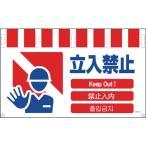 TRグリーンクロス 4ヶ国語入りタンカン標識ワイド 立入禁止