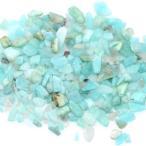 天然石さざれチップ 穴なしさざれチップ アマゾンアマゾナイト 5-7mm(50g)