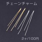 チェーンチャーム No.1 カン付き 6.5cm【2ヶ】