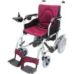 電動車椅子 CE21-HSU-12 ハピネスムーブS ワインレッ