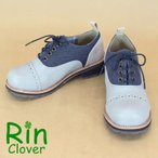 Rin Clover(リンクローバー)/バイカラーレースアップシューズ カジュアル レディース
