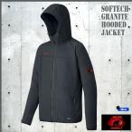 MAMMIT(マムート) SOFtech GRANITE hooded Jacket Men  ソフテック グラナイトフーデッドジャケット カラー:0001  JAPAN LICENSE モデル (MAMMUT_17SS)