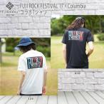 FUJI ROCK FESTIVAL 17×ColumbiaコラボTシャツ デッドランナーショートスリーブT(tp15)