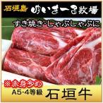 牛肉 高級黒毛和牛 希少な石垣牛   すき焼き・しゃぶしゃぶ用 A5・4クラス 1kg/ゆいまーる牧場 沖縄