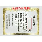 賞状(表彰状・感謝状・証書など)の名前の筆耕のみ【A3 / A4 / B4サイズ】