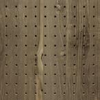 UKB-VB-2544-42 送料無料★当店オリジナル【有孔ボード】5φ25ピッチ 木目調 ビンテージブルー パンチング穴あきボード 厚さ4mm 910×1830