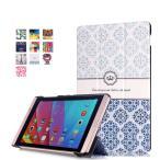 ショッピング docomo dtab Compact d-02h / Huawei MediaPad M2 8専用保護ケース 彩色上絵 オートスリップ 高級PUレザーケース(ティアラ)