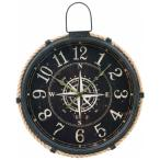 ビッグ掛け時計 コンパス 直径47cm  <時計 掛時計 壁掛け クロック 大きい ビッグ でかい ウォールクロック clock 72701>
