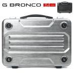 アタッシュケース B4 ハード ビジネスバッグ メンズ  G BRONCO ジーブロンコ アタッシュ PC対応 ポリカーボネート 2way ショルダーバッグ