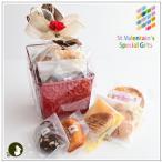 バレンタイン:クッキー・焼菓子詰合せ「クロシア赤」 1566円
