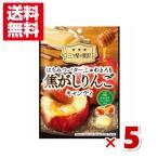 (メール便全国送料無料) カンロ 焦がしりんごキャンディ 5入 (ポイント消化)