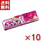 (メール便全国送料無料) 味覚糖 ぷっちょスティック ぶどう 10入 (ポイント消化)